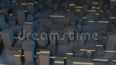 Штриховатости Greeble светлые видеоматериал