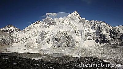 Эверест, Нупце и Лхотсе сток-видео