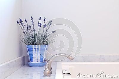 элегантность ванной комнаты