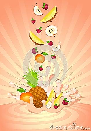 югурт плодоовощ вкусный