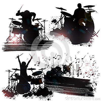 摇滚乐队成员 免版税库存照片图片