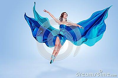 跳芭蕾舞者