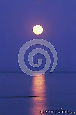月亮水 库存照片 - 图片