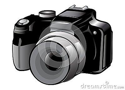 照相机图标 图库摄影图片