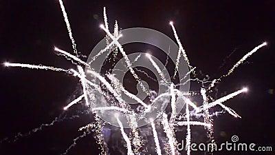 † 1280†x†† 720 List-Feuerwerke pyrotechnie Frankreich stock footage