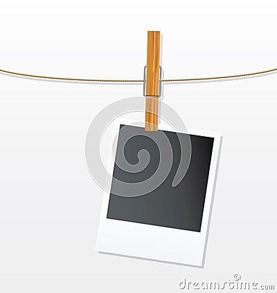 一条照片绳索
