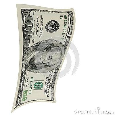 上涨的美元。