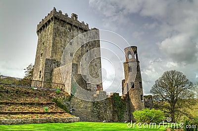 中世纪奉承的城堡