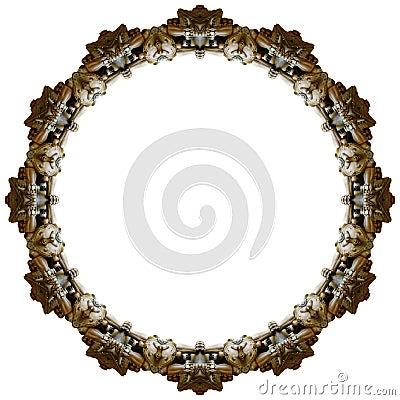 中国狮子环形