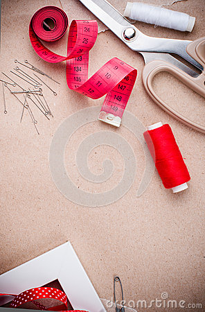 为缝合的工具和手工制造