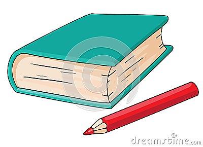 书铅笔图片