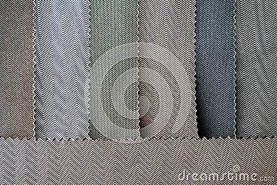 五颜六色的布料