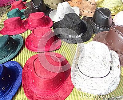 五颜六色的盖帽