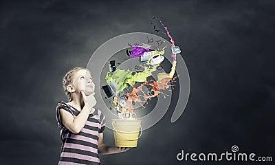 五颜六色的童年! 库存照片 - 图片: 50503336