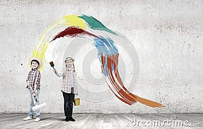 五颜六色的童年 库存照片 - 图片: 50538878
