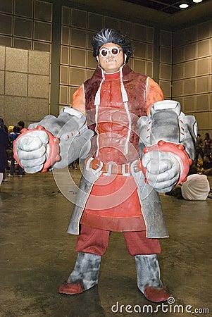 亚洲常规cosplay比赛 编辑类库存照片