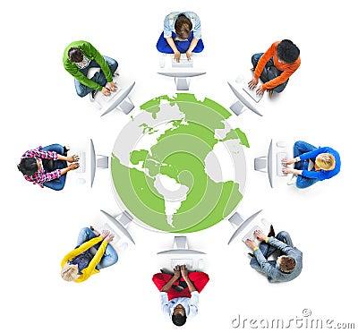 人社会网络和计算机网络概念.图片