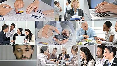 企业生意人coffeeb计算机膝上型计算机人寿保险业秘书服务微笑的工作