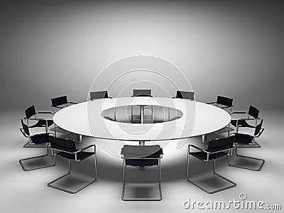 会议桌 图库摄影 图片