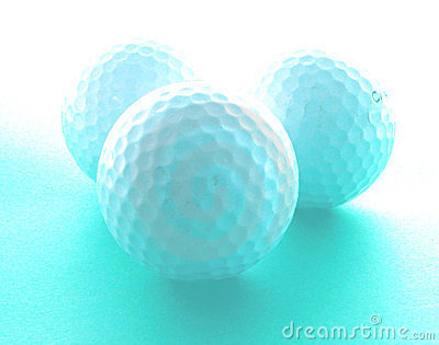 作高尔夫球