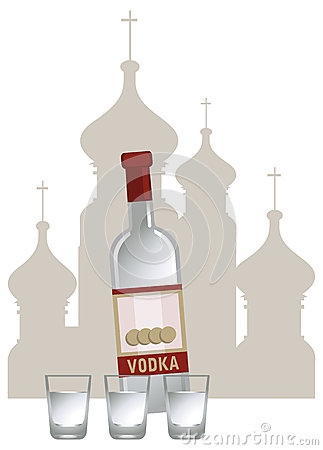 俄国伏特加酒