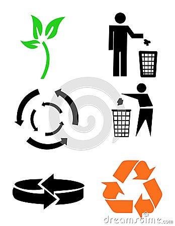 空白保护环境的符号.图片