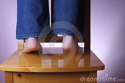 保持脚趾您
