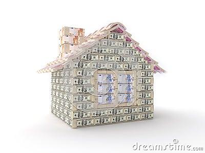 做的100美元房子