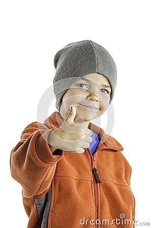 儿童冬天给2穿衣