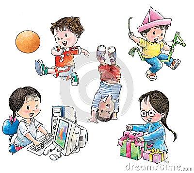 小孩游戏_
