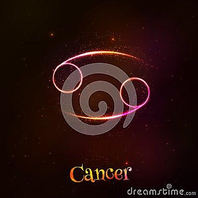 在霸气的黄道的背景的星座媒介带巨蟹男生传染标志光亮.金牛座霓虹黑暗头像图片