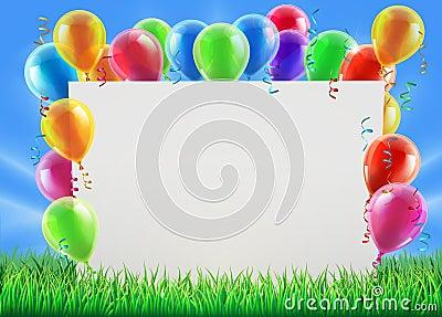 党气球标志图片