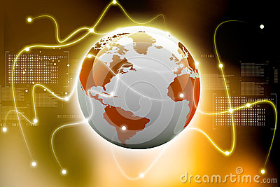 全球的连接数