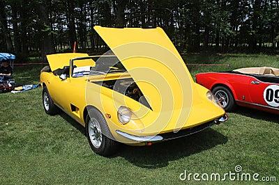 经典的黄色小�9`��l$yi���oy�z`���-��_经典黄色跑车敞篷车