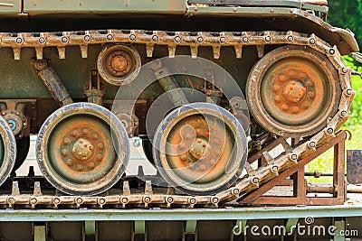 军事坦克。