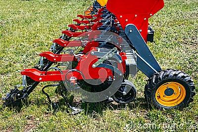 农业设备。细节123