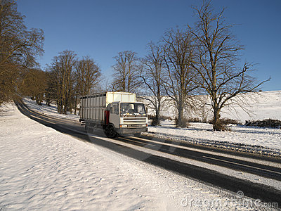 冬天雪在英国