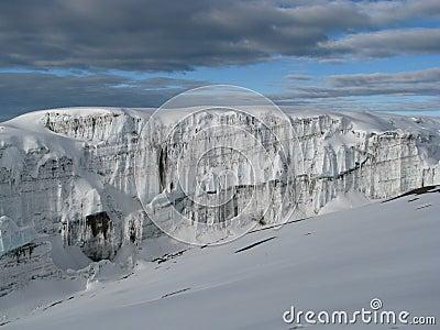 冰川kilimanjaro