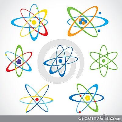分子原子标志科学象传染媒介设计.