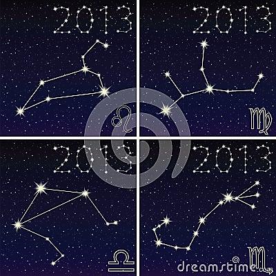 利奥的星座,处女座,天秤座,scorpius2013年.白羊女狮子座男匹配图片
