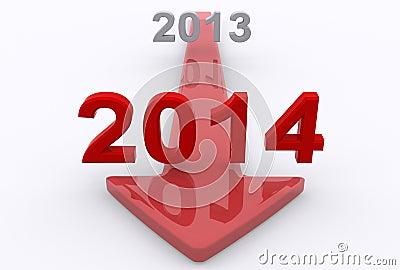 到2014年