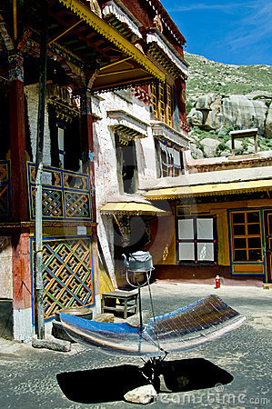 加热的太阳西藏