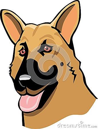 动画片德国牧羊犬