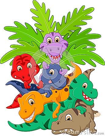 动画片小组恐龙图片