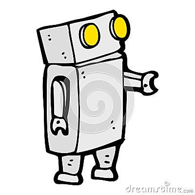 动画片机器人