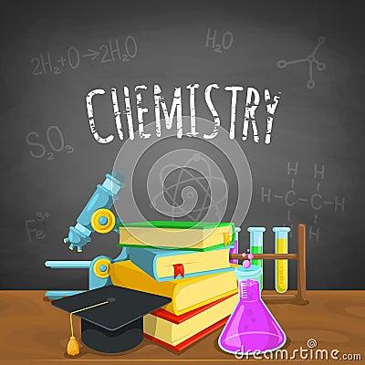 化学背景图片