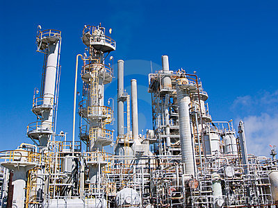 化工精炼厂