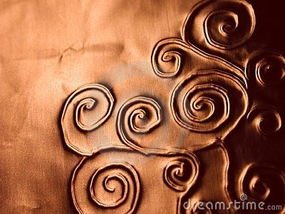 华丽模式成螺旋形纹理