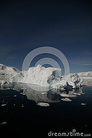南极洲冰山