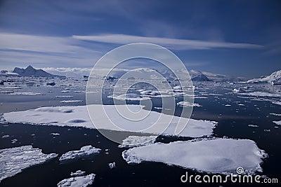 南极洲横向
